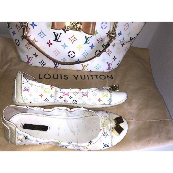 Louis Vuitton Monogram Multicolor Ballerinas