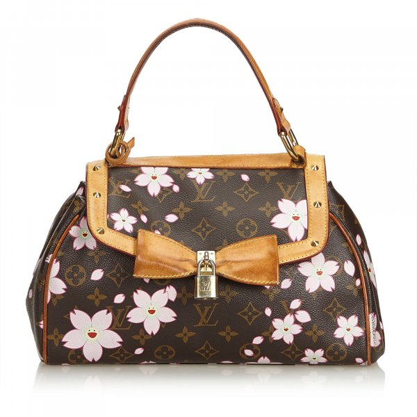 Louis Vuitton Monogram Murakami Cherry Blossom Sac Retro Bag