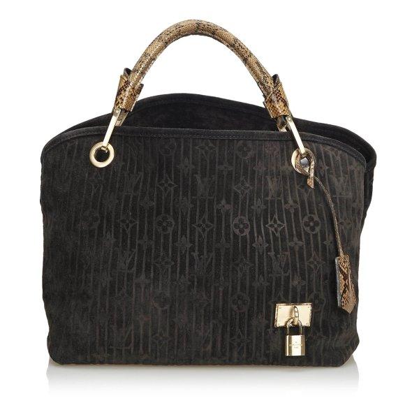 Louis Vuitton Monogram Suede Whisper PM