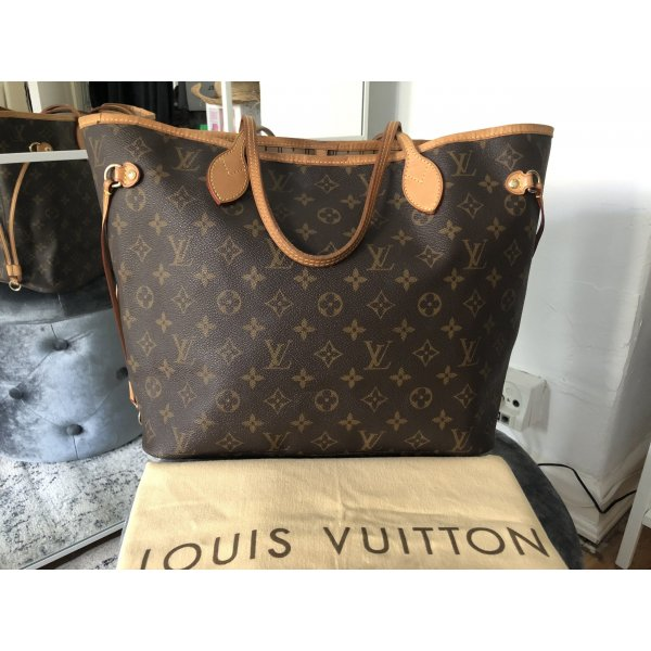 Louis Vuitton Neverfull Monogram MM Tasche Shopper Top