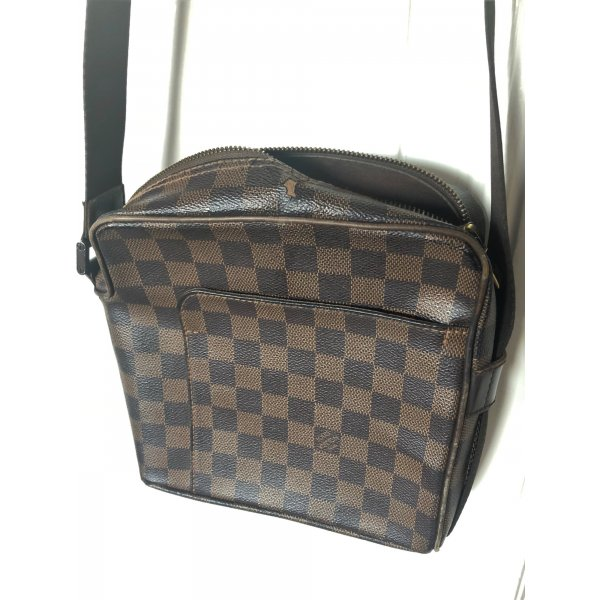 Louis Vuitton Olav PM Cross Body Bag Unisex Damier Canvas Umhängetasche