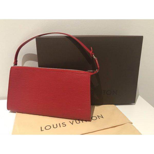 Louis Vuitton Pochette Accessoires aus Epi Leder - Rot