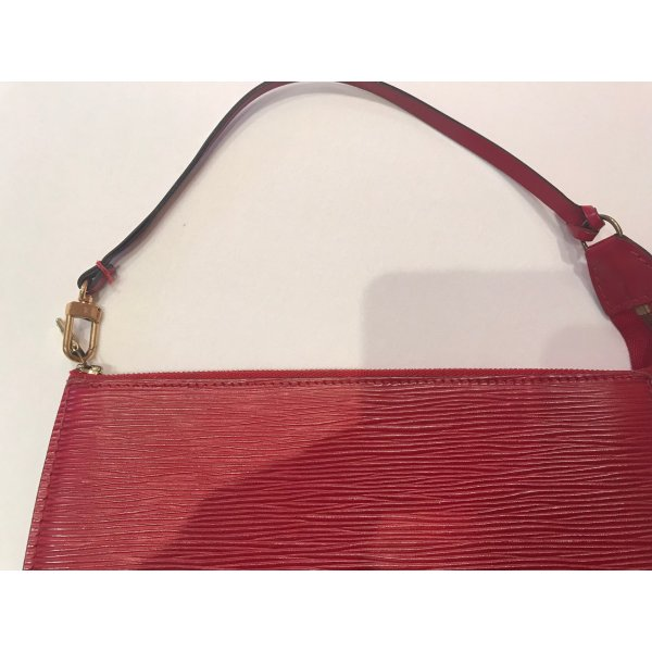 Louis Vuitton Pochette Epi Rouge