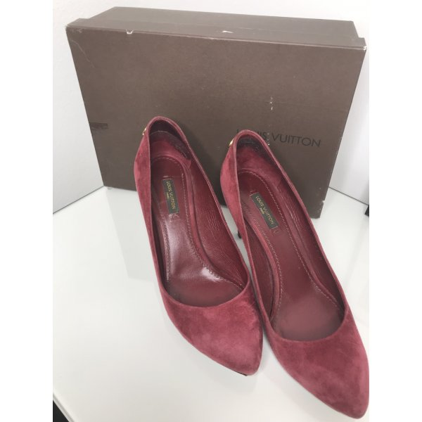 Louis Vuitton Pumps weinrot
