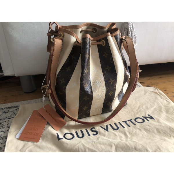 Louis Vuitton Sac Noe Rayures Beutel Tasche