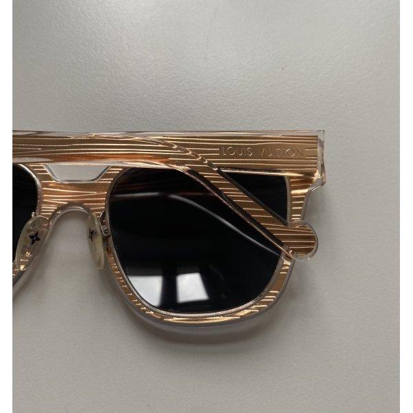 Louis Vuitton Sonnenbrille Roségold
