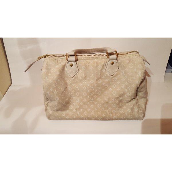 Louis Vuitton Speddy 30 Mini-Lin Idylle Weiß/Dune