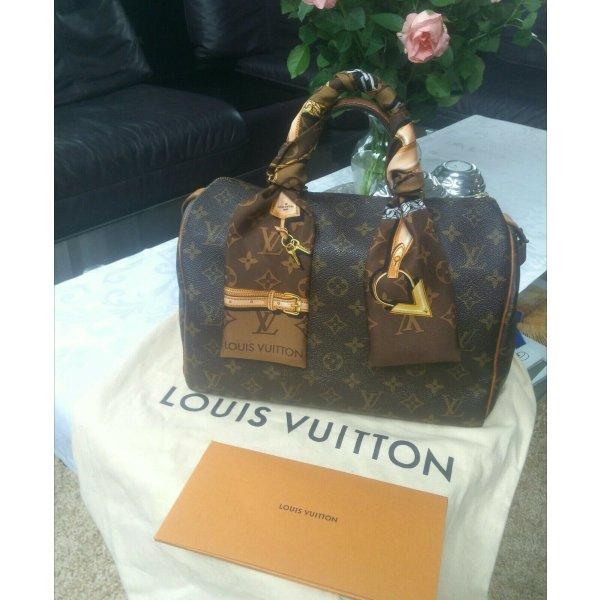 Louis Vuitton Speedy 30 + Bandeau mit Rechnung