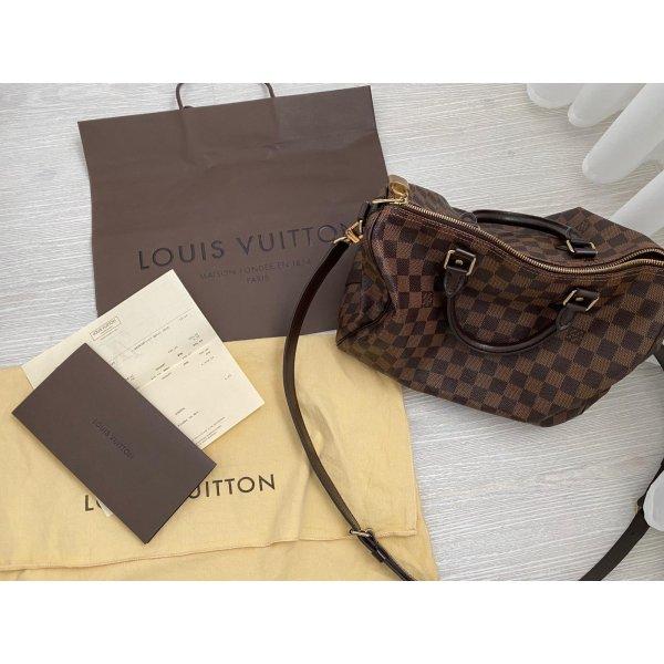 Louis Vuitton Speedy 30 Damier Tragegurt