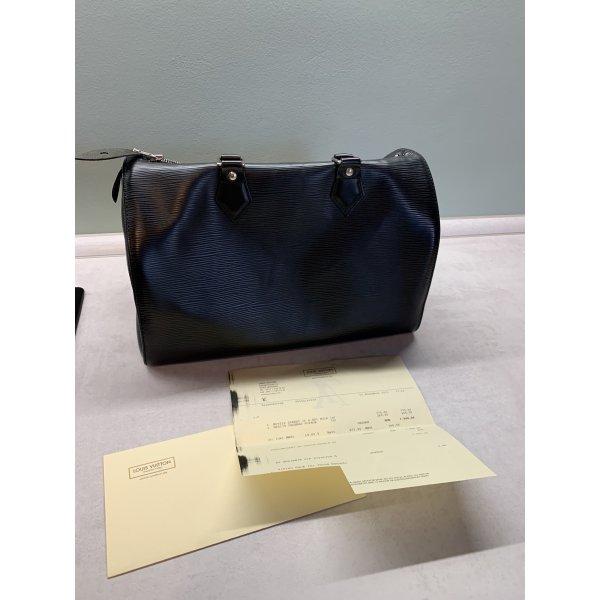 Louis Vuitton Speedy 30 EPI Leder schwarz