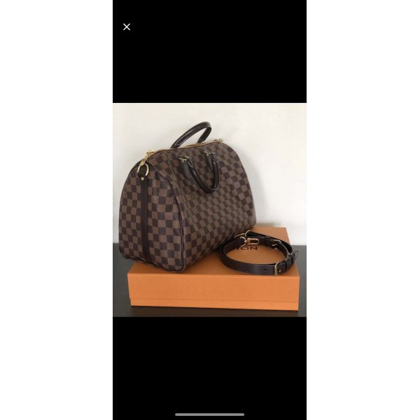 Louis Vuitton Speedy 35 Banduliere