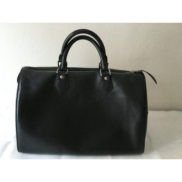 Louis Vuitton Bolso de bolos negro Cuero