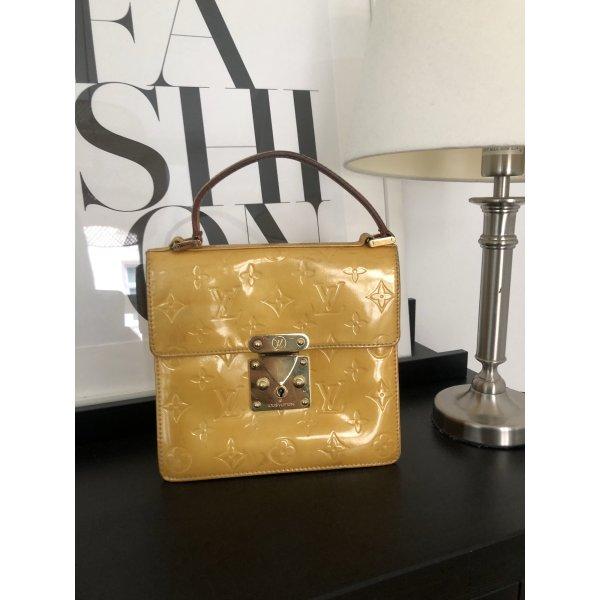 Louis Vuitton Spring Street Geld Lackleder Original