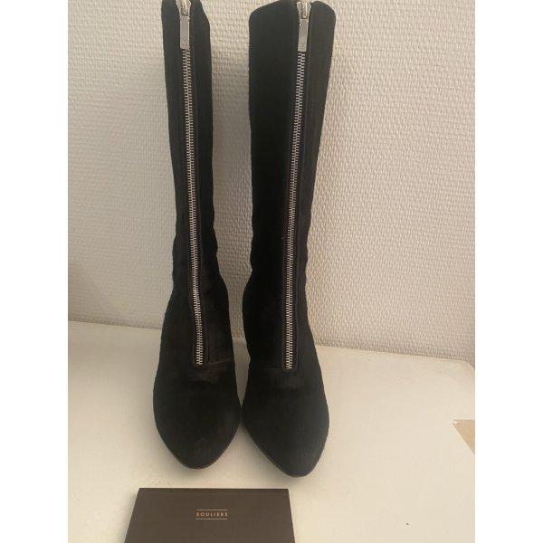 Louis Vuitton Stiefel 38,5 schwarz