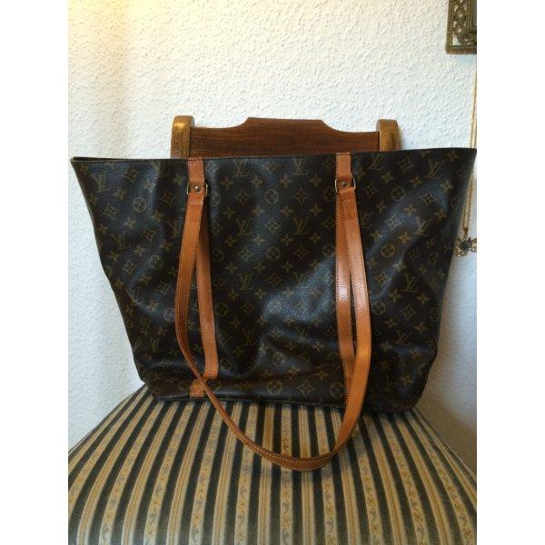 Louis Vuitton Shopper noir-brun noir cuir