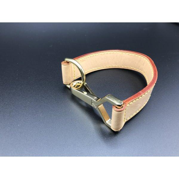 Louis Vuitton Taschen Band Verlängerung aus Leder mit Karabiner und D-Öse