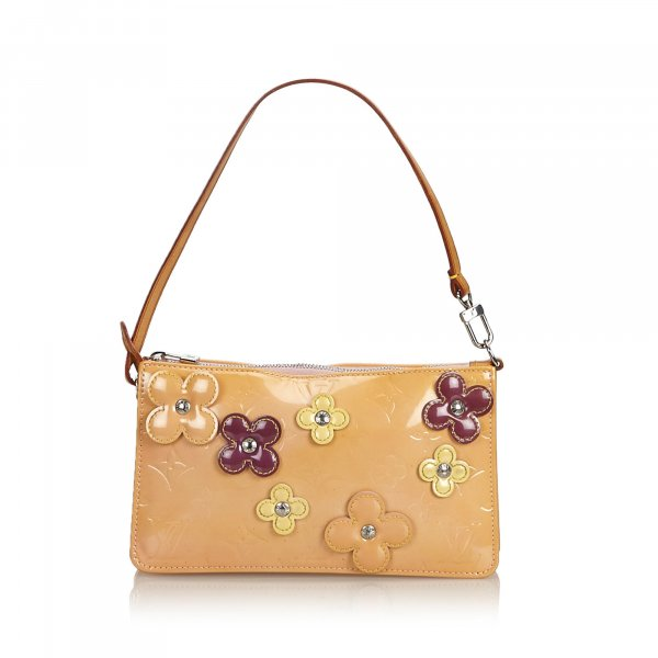 Louis Vuitton Vernis Lexington Fleurs Pochette