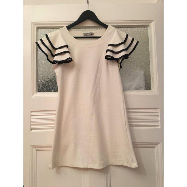 Love Kleid mit ausgestellten, verzierten Schultern