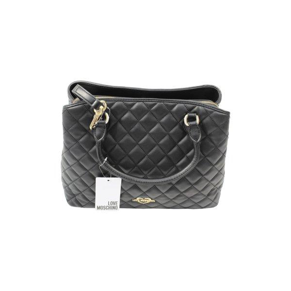 Love Moschino Handtasche in Schwarz