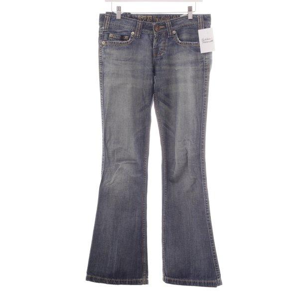 LTB Boot Cut Jeans stahlblau Casual-Look