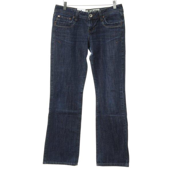 LTB by Littlebig Boot Cut Jeans dunkelblau Street-Fashion-Look