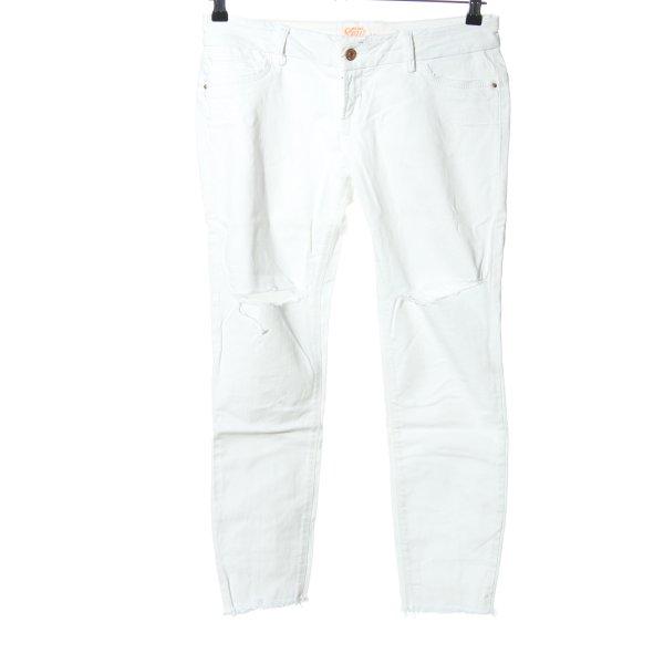 LTB Skinny Jeans weiß Casual-Look