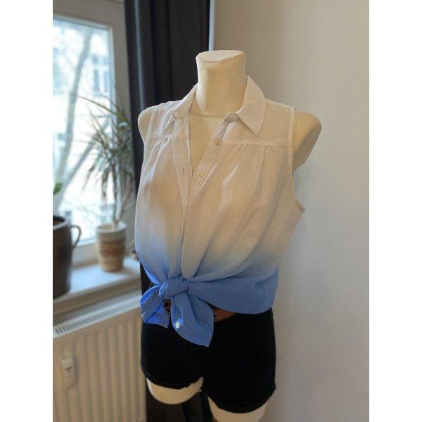 Luftige Bluse mit Farbverlauf