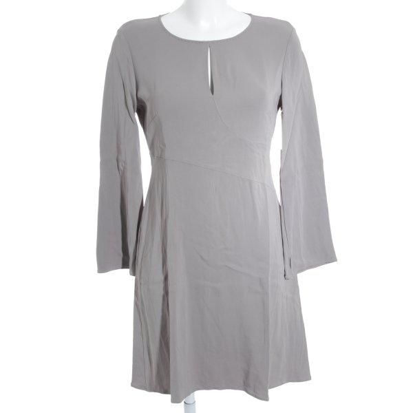 Luisa Cerano Langarmkleid blasslila-grau schlichter Stil