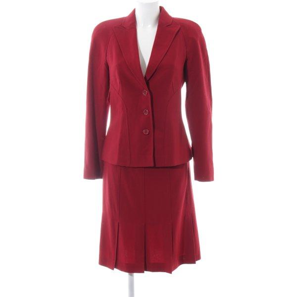 Luisa Spagnoli Kostüm rot Business-Look