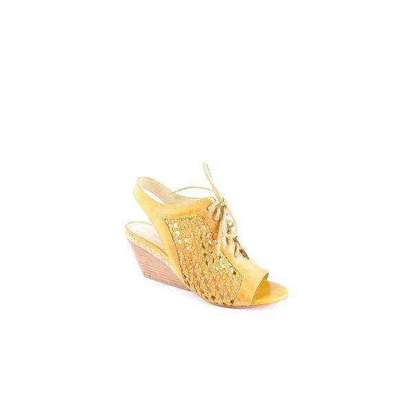 "Luxury rebel Wedge Sandals ""Catia"" light brown"