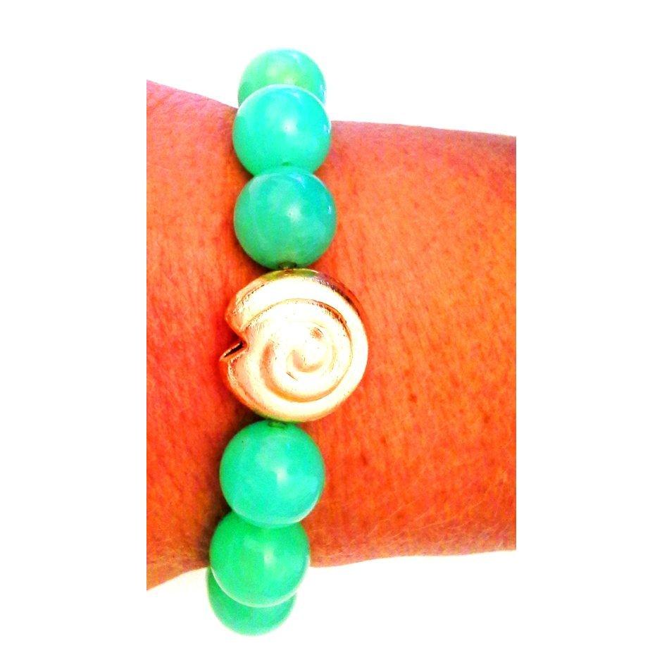 *  Luxus  Chrysopras  Edelstein-Armband  *  Neu  *
