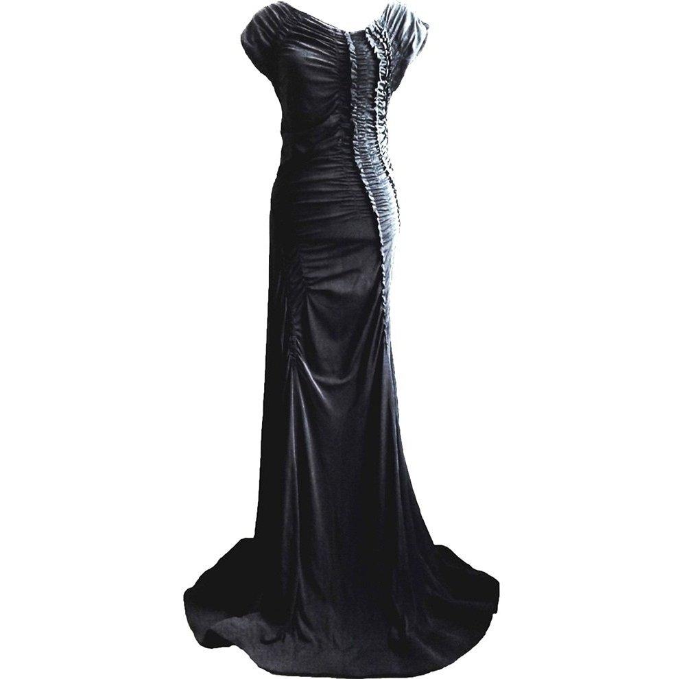 *  Luxus  Maxi-Kleid  *  HAUTE COUTURE  *   GR. M-L  *