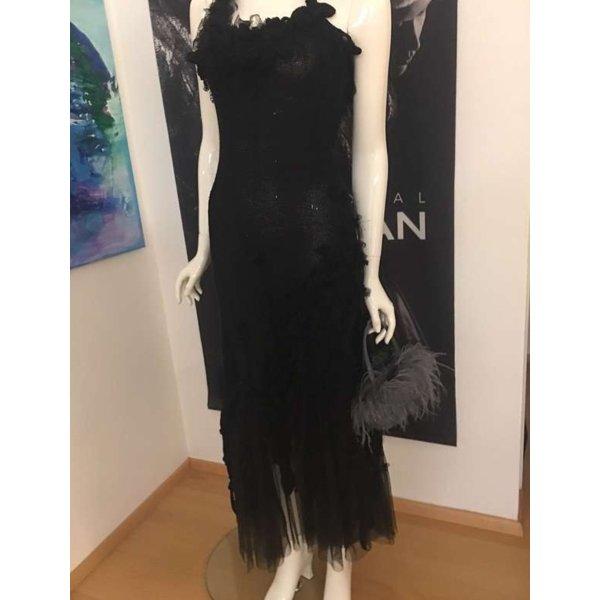 Luxus runway Fashion  Couture by S'Finks sehr hoher Neupreis schwarz 34/36 npr 789