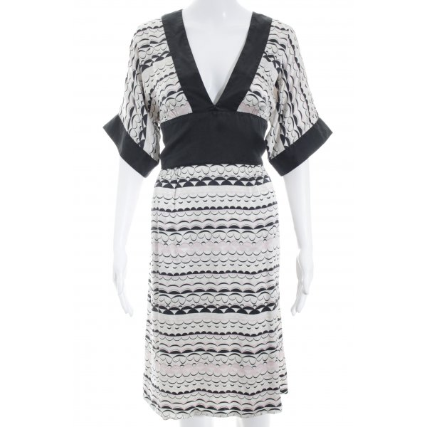 M by Madonna Midi-jurk abstract patroon casual uitstraling