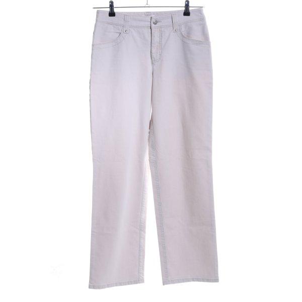 Mac Boot Cut Jeans hellgrau Casual-Look