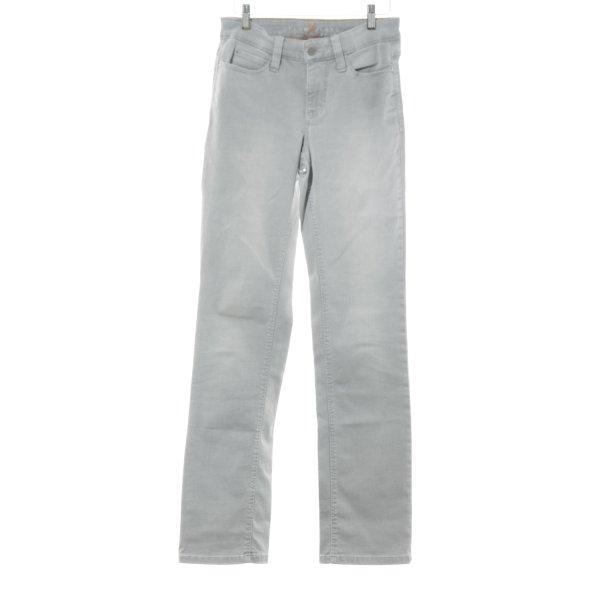Mac Boot Cut Jeans grau Casual-Look