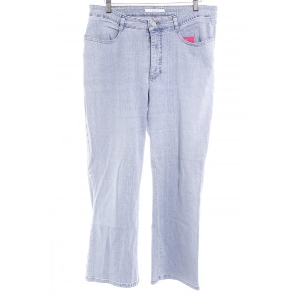 Mac Boot Cut Jeans himmelblau Casual-Look