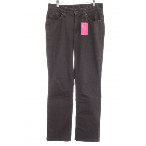 "Mac Boot Cut Jeans ""Melanie"" dunkelbraun"