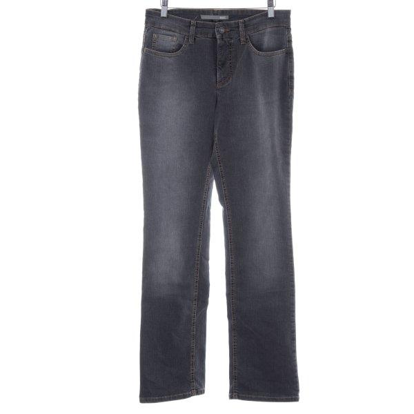 """Mac Boot Cut Jeans """"Melanie"""" grau"""