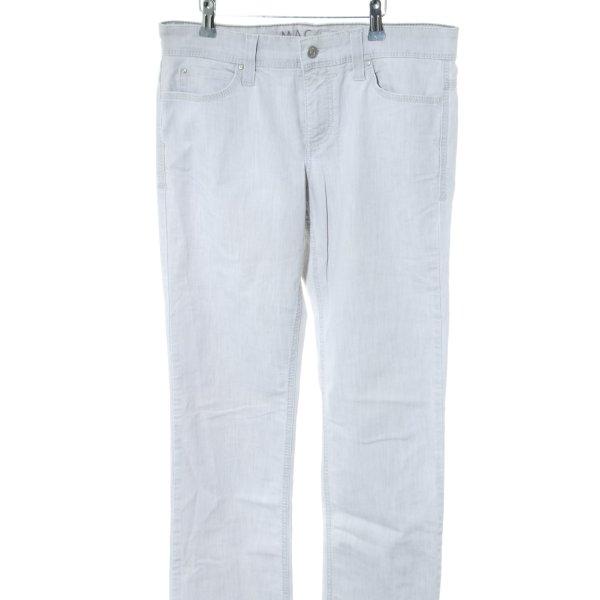 MAC Jeans Boot Cut Jeans weiß meliert Casual-Look
