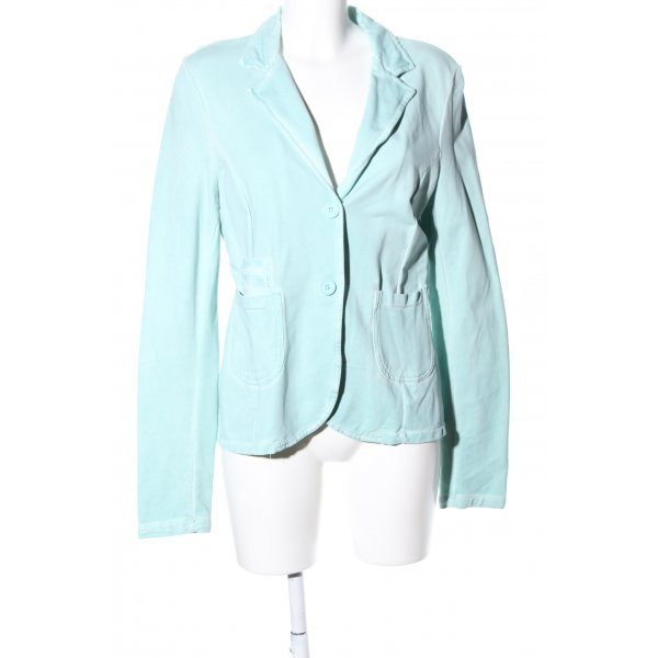 Made in Italy Sweatblazer türkis Casual-Look