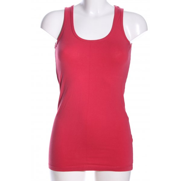 Made with love Tanktop rot Casual-Look