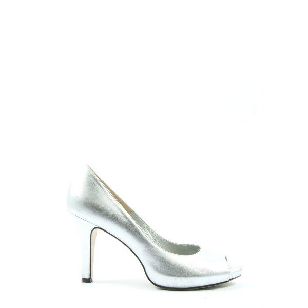 Madeleine High Heels silberfarben Elegant