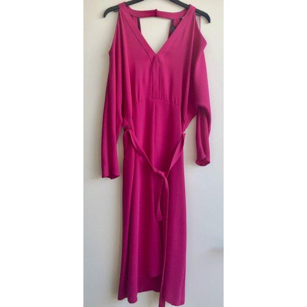 Magenta Sommer Kleid