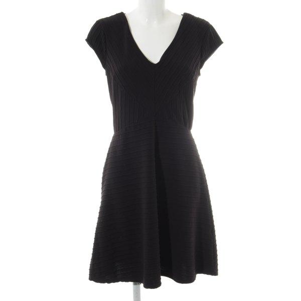 Maille Demoiselle Minikleid schwarz Casual-Look
