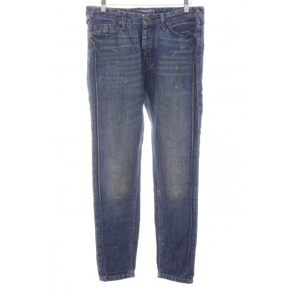 Maison Scotch Boyfriendjeans blau Casual-Look