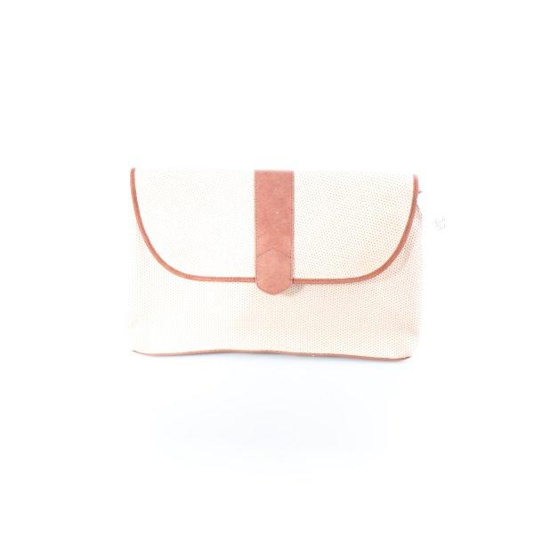 Maison Scotch Clutch rosé-rostrot Street-Fashion-Look