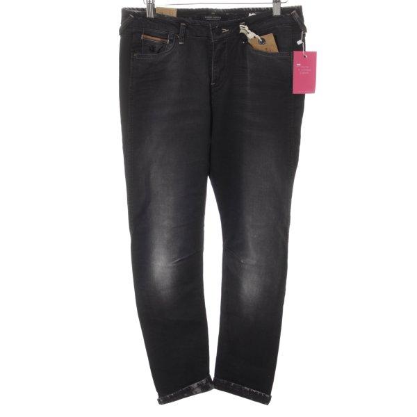 Maison Scotch High Waist Jeans schwarz Casual-Look