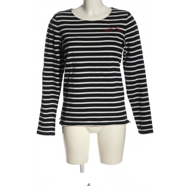 Maison Scotch Sweatshirt Allover-Druck Casual-Look