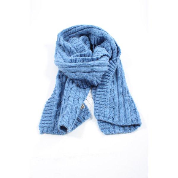 Mala Alisha Wollschal blau Casual-Look